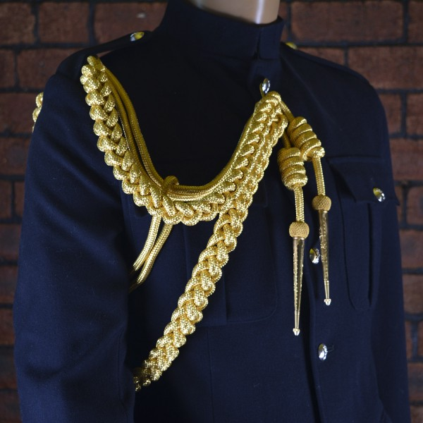 British Army - Field Marshall's and ADC No 1 Gold Aiguillette - Right Shoulder