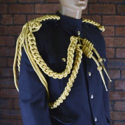 Blues and Royals - Officers Gold Cord Aiguillette - Right Shoulder - Household Cavalry (HCAV) British Army