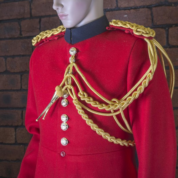 Life Guards - 2nd Class Staff Gold Aiguillette - Left Shoulder - Household Cavalry (HCav), British Army