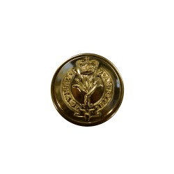 Welsh Guards Aluminium Andonised Gold Button