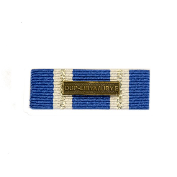 38mm NATO Operation UNIFIED PROTECTOR - LIBYA Medal Ribbon Slider