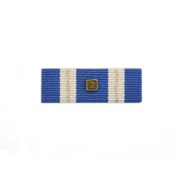 38mm NATO Two Missions/ Awards Medal Ribbon Slider