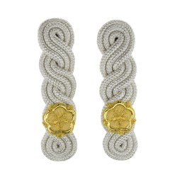 Deputy Lord-Lieutenant English Rose Triple Twist Epaulettes