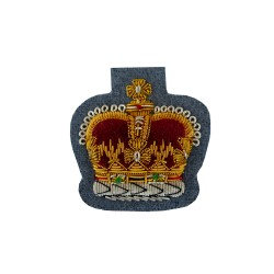 QMS, CSgt and SSgt - NCO's - Small Crown – Rank Badge - Army Air Corps - British Army