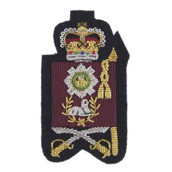 Colour Sergeants and Company Quartermaster Sergeants  – Rank - Household Division - Scots Guards - British Army Badge