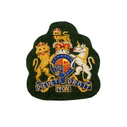 Warrant Officer Class 1 (WO1) - The Rifles, Yorkshire Regiment, Royal Regiment of Wales - Royal Arms - British Army Badge