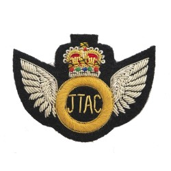 Joint Terminal Attack Controller JTAC Qualification Hand Embroidered Badge - British Army