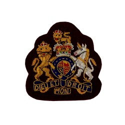 Warrant Officer Class 1 (WO1) Royal Army Medical Corps - Royal Arms - British Army Rank Badge