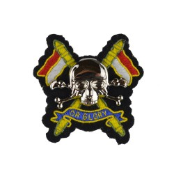 Other Ranks Beret Badge - The Royal Lancers Organisation - British Army