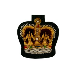 QMS, CSgt and SSgt - NCO's - Small Crown – Rank Badge - Mercian Regiment - British Army