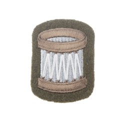 Drummers and Drum Majors - Qualification Badge - British Army Badge