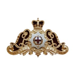 Lifeguards Officers Metal Badge for Ammunition Pouch - British Army