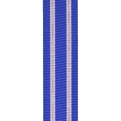 38mm NATO Afghanistan (ISAF) or Iraq (NATO Training Mission) Medal Ribbon