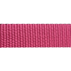 25mm – Cerise Pink – Polypropylene – Double Plain Weave - Webbing