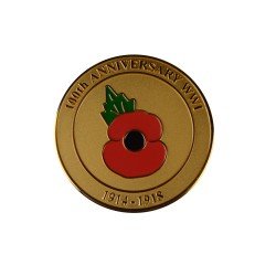 World War 1 100th Anniversary Coin